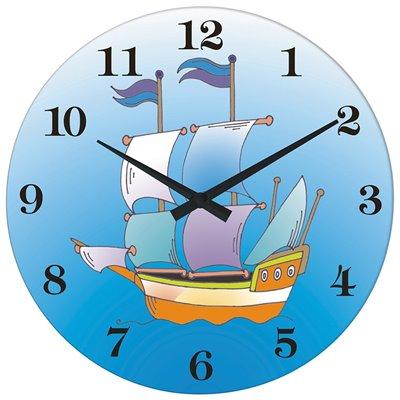 ELTON skleněné nástěnné hodiny - 161059