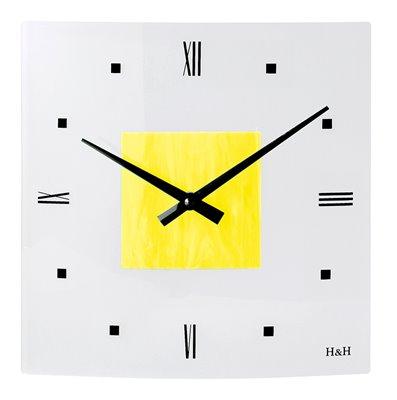 ELTON skleněné nástěnné hodiny - 161015