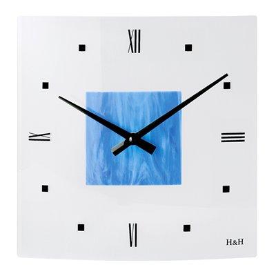 ELTON skleněné nástěnné hodiny - 161019