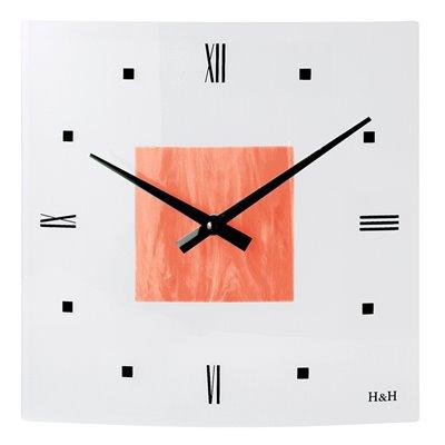ELTON skleněné nástěnné hodiny - 161020