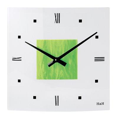ELTON skleněné nástěnné hodiny - 161021