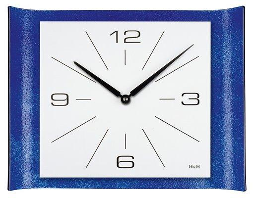 ELTON skleněné nástěnné hodiny - 161111