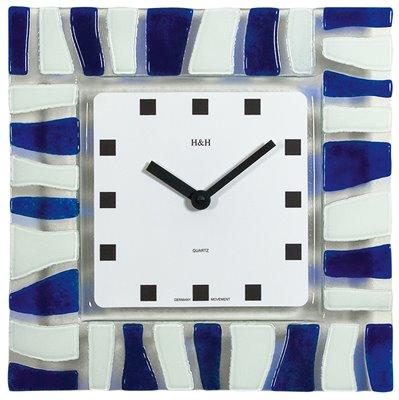ELTON skleněné nástěnné hodiny - 161086