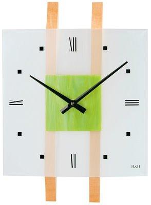 ELTON skleněné nástěnné hodiny - 161069