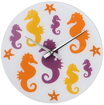 ELTON skleněné nástěnné hodiny - 161056