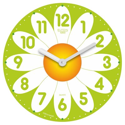 ELTON dětské hodiny Kopretina - 163378