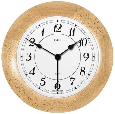 ELTON Dřevěné nástěnné hodiny - 164268 - levé