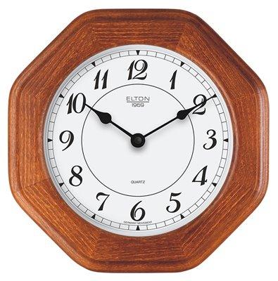 ELTON dřevěné nástěnné hodiny - 164271