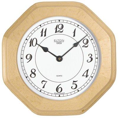 ELTON dřevěné nástěnné hodiny - 164272
