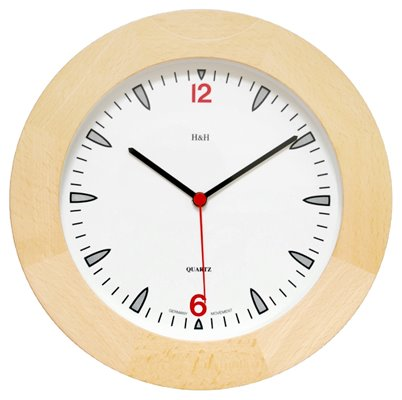 ELTON dřevěné nástěnné hodiny - 164368