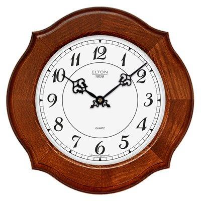 ELTON dřevěné nástěnné hodiny - 164057