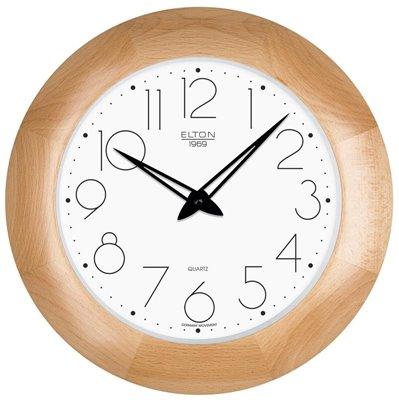 ELTON dřevěné nástěnné hodiny - 164343