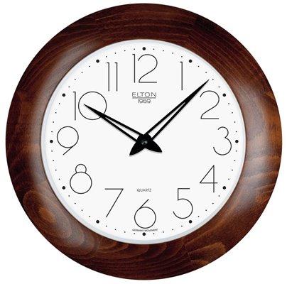 ELTON dřevěné nástěnné hodiny - 164349