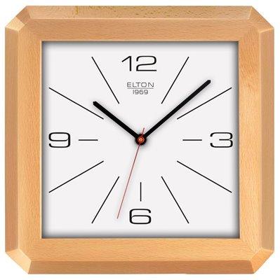 ELTON dřevěné nástěnné hodiny - 164363