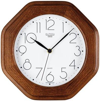 ELTON dřevěné nástěnné hodiny - 164326