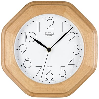 ELTON dřevěné nástěnné hodiny - 164327