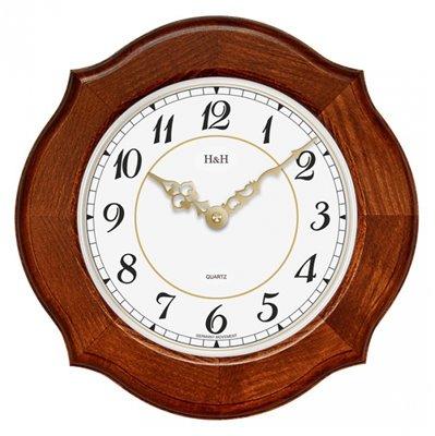 ELTON dřevěné nástěnné hodiny - 164058