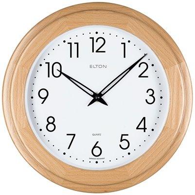 ELTON dřevěné nástěnné hodiny - 164341