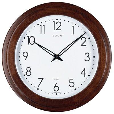 ELTON dřevěné nástěnné hodiny - 164342