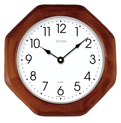 ELTON dřevěné nástěnné hodiny - 164065