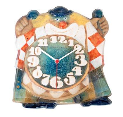 ELTON Keramické hodiny Klaun