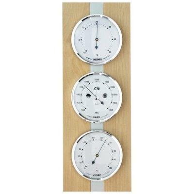 Domácí BAROMETR - přístroj pro stanovení předpovědi počasí, určení tlaku, teploty a vlhkosti vzduchu v interiéru - 8063B