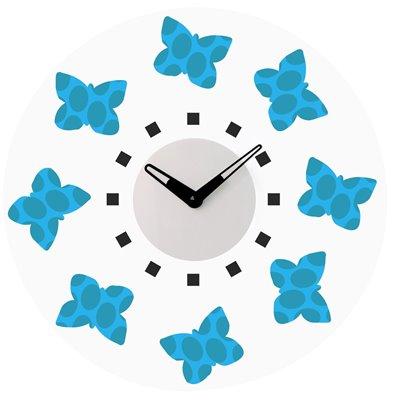 ELTON skleněné nástěnné hodiny - 161047